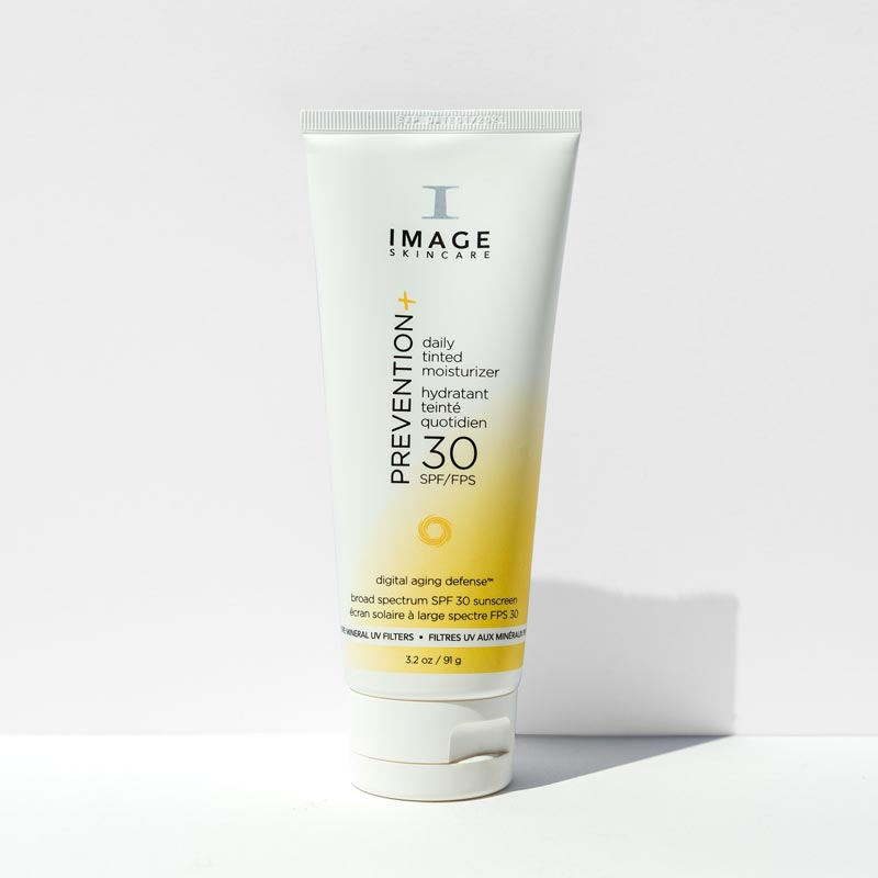 Prevention + Daily Tinted Moisturiser SPF 30  – now with digital aging defense™ 95ml